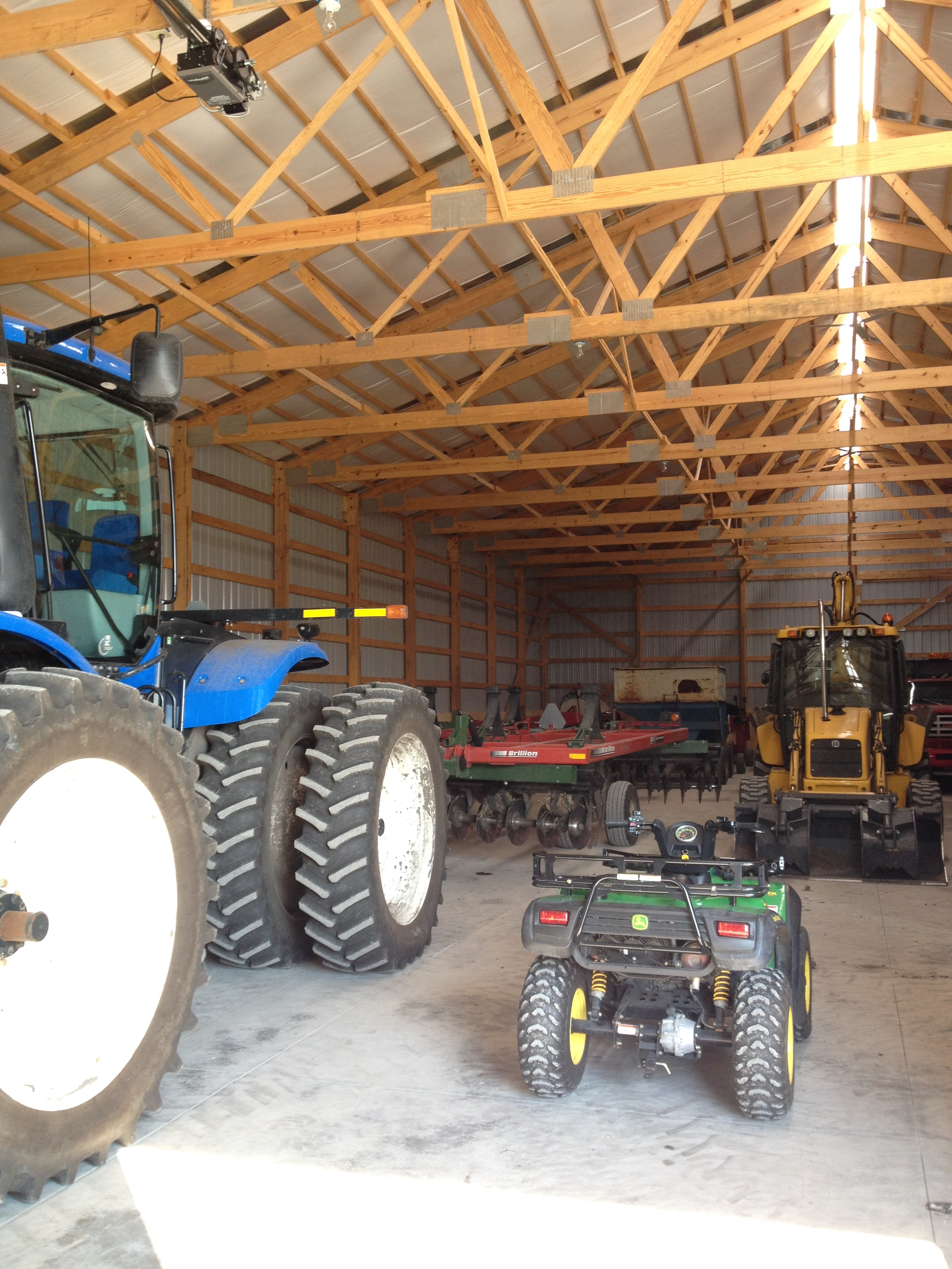 Agricultural Machinery Design : Agricultural machine storage maloney bos design
