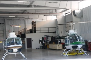 hanger interior