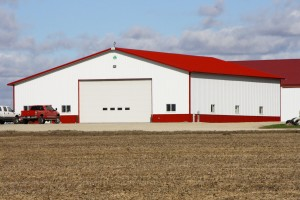 Agricultural Machine Storage Building