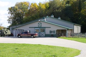 Horse Barn and Riding Arena